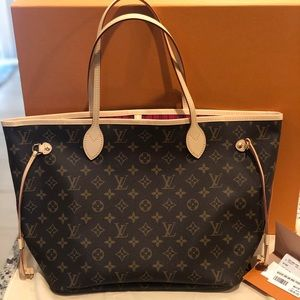 NEW Louis Vuitton Neverfull MM Tote